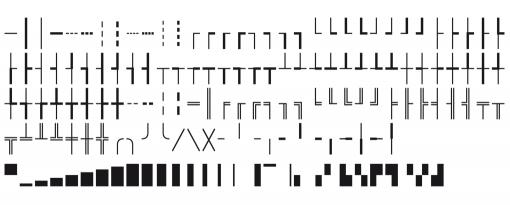 FF Attribute Box Drawing