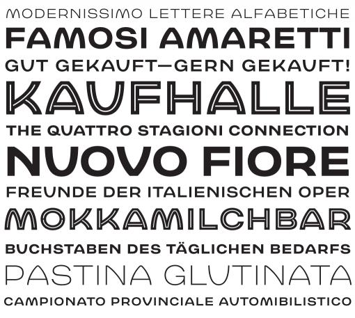 Babetta Type Family Specimen