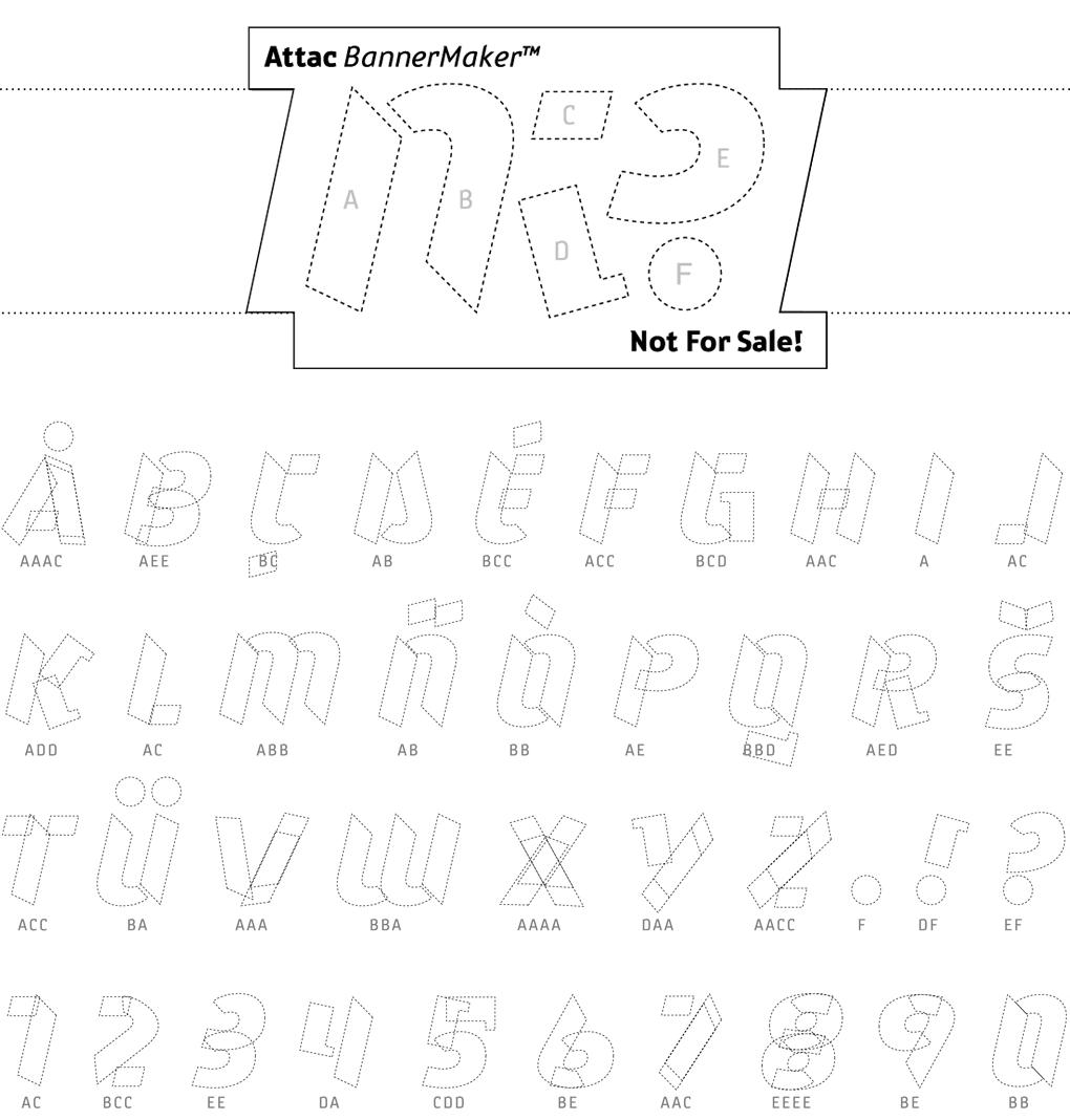 Type Attack Alphabet